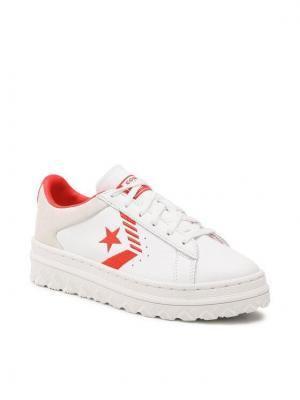 Converse Sneakersy Pro Leather X2 Ox 168691C Biały