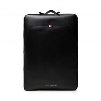 Plecak TOMMY HILFIGER - Business Leather Backpack AM0AM07550 BDS