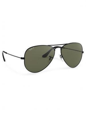 Ray-Ban Okulary przeciwsłoneczne Aviator Large Metal 0RB3025 002/58 Czarny