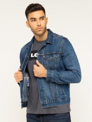 Levi's® Kurtka jeansowa The Trucker 72334-0354 Granatowy Regular Fit
