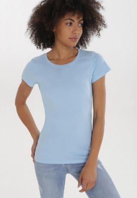 Jasnoniebieski T-shirt Nericea