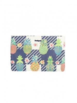 Kopertówka damska w ananasy i kwiaty Desigual PINACOLADA