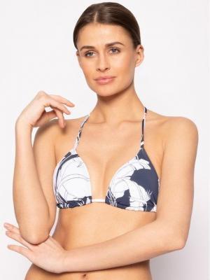 Roxy Góra od bikini Beach Classics Tankini ERJX304076 Granatowy