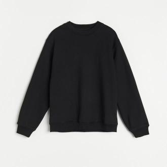 Reserved - RE.DESIGN Bluza z bawełny organicznej - Czarny