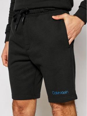 Calvin Klein Underwear Szorty materiałowe 000NM2168E Czarny Regular Fit