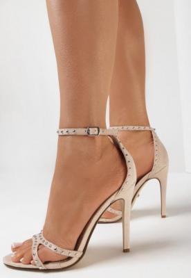 Beżowe Sandały Adiana