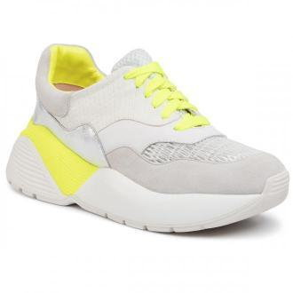Sneakersy TWINSET - Running 201TCP150 Bic.Ottico/Giallo Fluo 04830