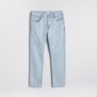 Reserved - Jeansy straight fit - Niebieski