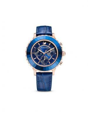 Swarovski Zegarek Octea Lux Chrono 5563480 Granatowy