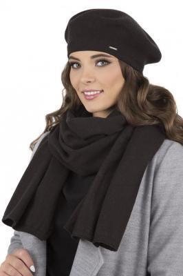 Vivisence 7005Kmpl Komplet czapka+szalik, czarny