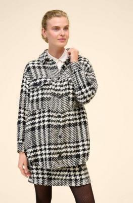 Tweedowa koszula wierzchnia