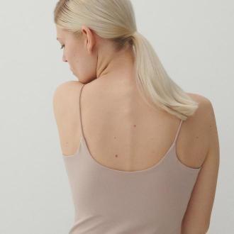 Reserved - Top na ramiączkach - Różowy