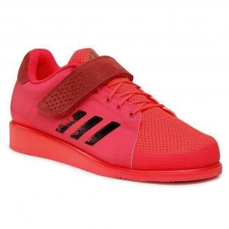 Buty adidas - Power Perfect III. FX2023 Czerwony