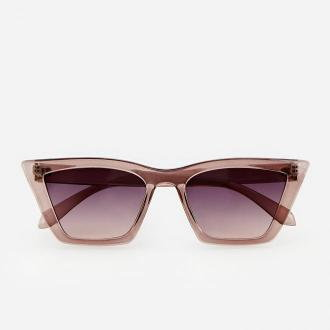 Reserved - Okulary damskie - Brązowy