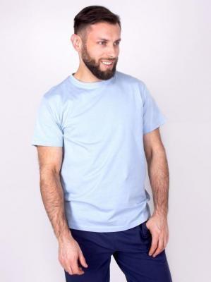 Podkoszulka t-shirt bawełniany męski jasny szary gładki  XXL