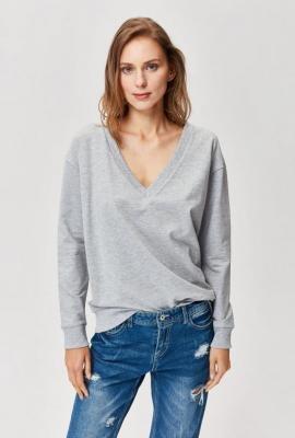 Bluza z dekoltem V