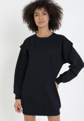 Granatowa Bluza Adozisei