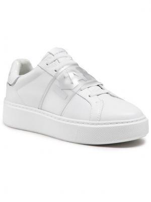 KARL LAGERFELD Sneakersy KL62235 Biały
