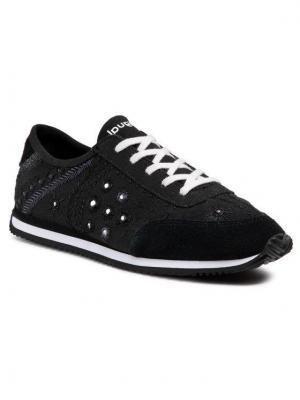 Desigual Sneakersy Exotic 21SSKA09 Czarny