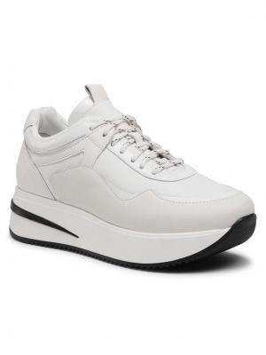 Gino Rossi Sneakersy E21-RST-LUXORY-01 Biały