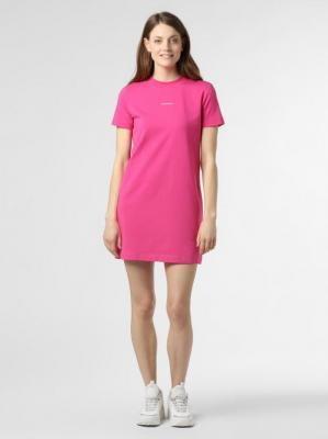 Calvin Klein Jeans - Sukienka damska, różowy
