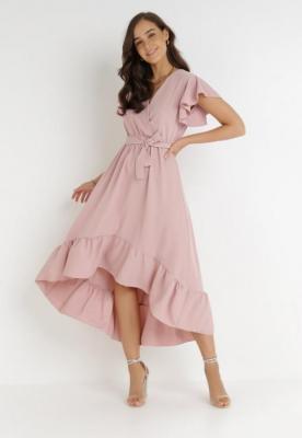 Różowa Sukienka Jhorahr