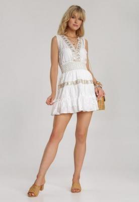 Biała Spódnica Lorairis