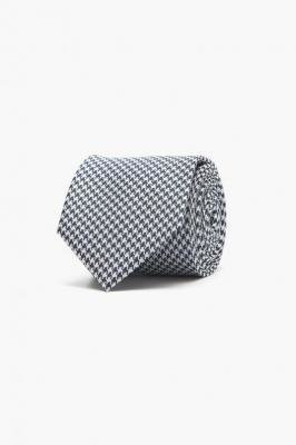 Czarny krawat Recman MIKROWZÓR 200