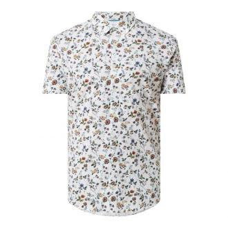 Koszula biznesowa o kroju slim fit z dżerseju z krótkim rękawem — 'Futureflex'
