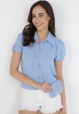 Niebieska Koszula Z Torebką Orphelis