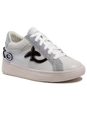 Pinko Sneakersy Liquirizia Low Top 6 Sneaker. PE 21 BLKS1 1H20UW Y73C Biały