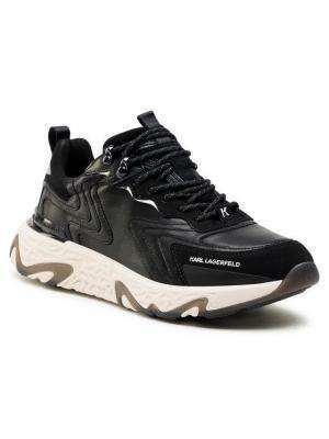 KARL LAGERFELD Sneakersy KL52420 Czarny