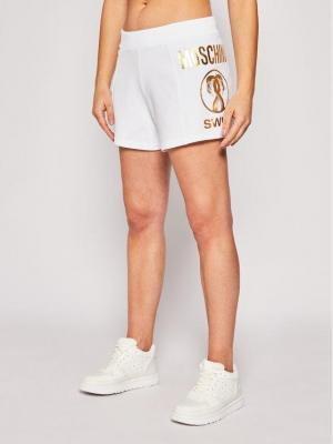 MOSCHINO Underwear & Swim Szorty plażowe A6705 2108 Biały Regular Fit