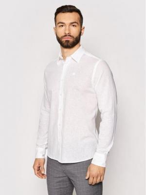 North Sails Koszula L/S Point Collar 664007 Biały Regular Fit