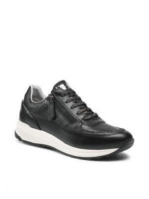 Geox Sneakersy D Airell A D152SA 08577 C9999 Czarny