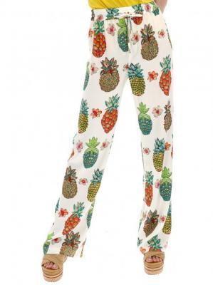 Spodnie z nadrukiem ananasów Desigual AMY