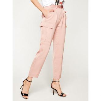 Calvin Klein Spodnie materiałowe Soft Cargo K20K201768 Różowy Regular Fit