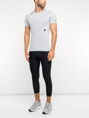Under Armour T-Shirt UA Rush 1327644 Szary Slim Fit