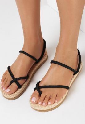 Czarne Sandały Adrialle