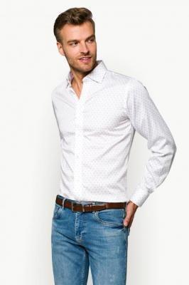 Koszula Biała w Paisley Rosalyn