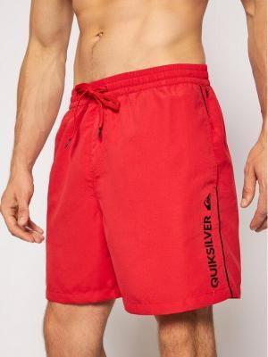 Quiksilver Szorty kąpielowe Vert 17 Volleys EQYJV03595 Czerwony Regular Fit