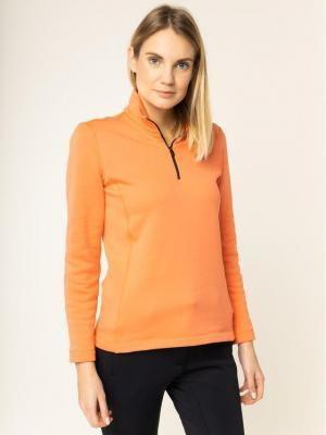 Colmar Bluza techniczna Monface 9383 9UE Pomarańczowy Regular Fit