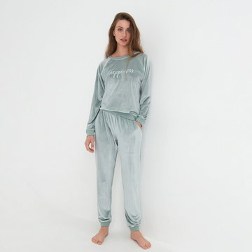 Sinsay - Piżama dwuczęściowa - Zielony