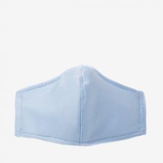 Niebieska 3 warstwowa maseczka ochronna na twarz - Maseczki