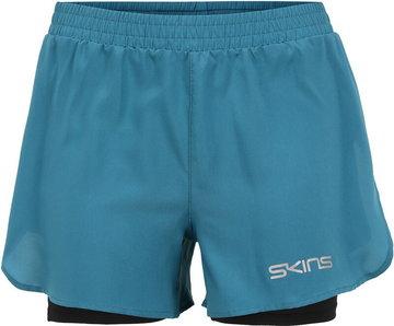 Skins Series-3 X-Fit Shorts Women, petrol S 2021 Szorty do biegania