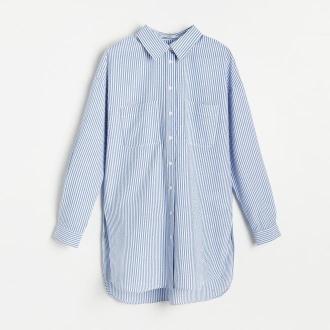 Reserved - Koszula w paski - Niebieski