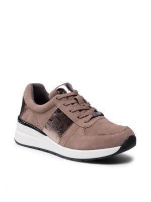 Caprice Sneakersy 9-23707-27 Brązowy