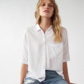 Mohito - Wiskozowa koszula z kieszonką -