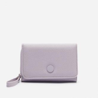House - Pastelowy portfel z imitacji skóry - Fioletowy