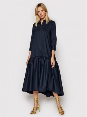 Imperial Sukienka koszulowa A9MYBBE Granatowy Regular Fit